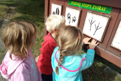 Učíme se hodně o přírodě a v přírodě